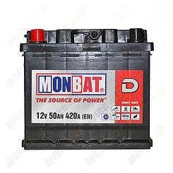 Аккумулятор Monbat D 50Ah L+ 420A