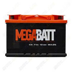 Аккумулятор MegaBatt 77Ah R+ 550A