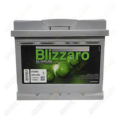 Автомобильный аккумулятор Blizzaro Silverline 50Ah R+ 420A