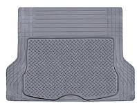 Коврик в багажник PVC with NBR 00202 GY серый 144х110