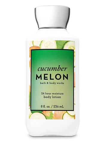 Лосьон для тела Bath&Body Works Cucumber Melon Body Lotion 236 мл, фото 2