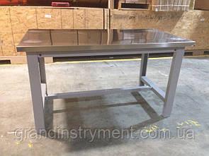 Верстак слесарный стальной 151x84x87 G.I. KRAFT GI37207 (столярный, металлический, стол, для СТО)