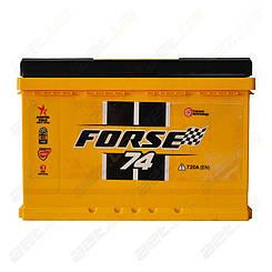 Аккумулятор автомобильный Forse 74Ah R+ 720A