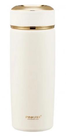 Термос Pinkah PJ-3563 420 мл, белый, фото 2