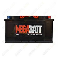 Автомобильный аккумулятор MegaBatt 90Ah R+ 670A