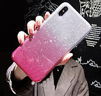 Силиконовый чехол градиент блеск для Samsung Galaxy A10/A105, фото 1