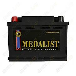 Аккумулятор автомообильный Medalist 61Ah L+ 600A (низкобазовый)