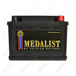 Аккумулятор автомобильный Medalist 61Ah R+ 600A (низкобазовый)