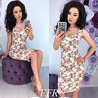 Платье женское Цветы 279
