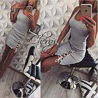 Платье женское Шнуровка 158