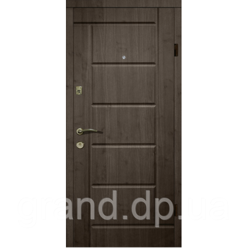 Двери металлические входные квартира  Магда Квартира 116/2 венге темный/сосна прованс