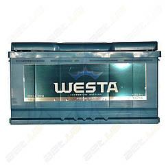 Автомобильный аккумулятор WESTA 100Ah L+ 850A
