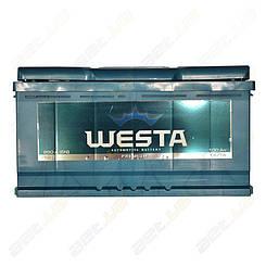 Автомобильный аккумулятор WESTA 100Ah R+ 850A