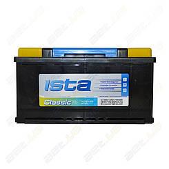 Аккумулятор автомобильный Ista Classic 100Ah L+ 800A (EN)