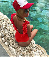 Красивый купальник женский с лепестками