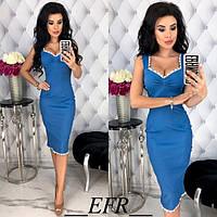 Летнее платье облегающее женское 54110-5
