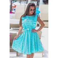 Платье красивое женское Ромашка 303