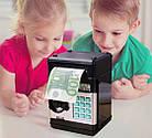 Детский сейф-копилка с кодовым замком   Копилка с купюроприемником   Детский сейф для денег, фото 7