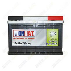 Аккумулятор Monbat P 80Ah R+ 740A