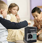 Детский сейф-копилка с кодовым замком   Копилка с купюроприемником   Детский сейф для денег, фото 10