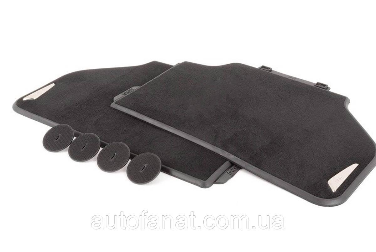 Оригинальные задние коврики салона для BMW X6 (F16) текстильные черные (51472288261)