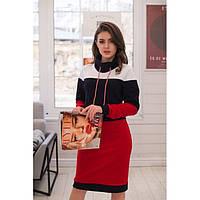 Платье свитер женское стильное №59368