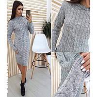 Вязаное платье женское Обзор 0262