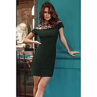 Платье нарядное женское с коротким рукавом 488796