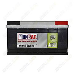 Аккумулятор Monbat P 100Ah R+ 860A