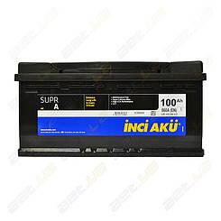 Аккумулятор автомобильный INCI-AKU Supr A 100Ah R+ 860A (низкобазовый)