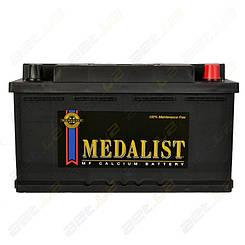 Аккумулятор автомобильный Medalist 80Ah R+ 730A (низкобазовый)
