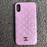 Chanel Iphone X Case Quilted Double C Pink