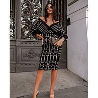 Красивое Платье женское вязаное 33009 Турция