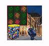 Лазерный проектор Star Shower Motion, Новогодний лазерный проектор для улицы и на фасад дома, фото 8