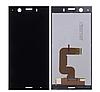 Дисплей (екран) для Sony G8441 Xperia XZ1 Compact + тачскрін, чорний, оригінал