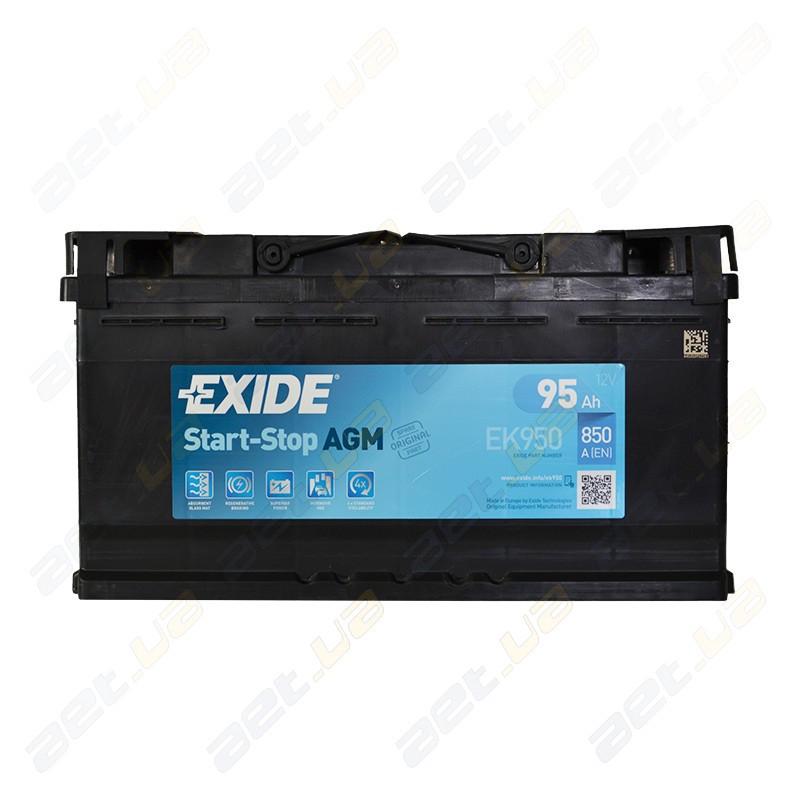 Аккумулятор Exide Start-Stop AGM 80Ah R+ 800A