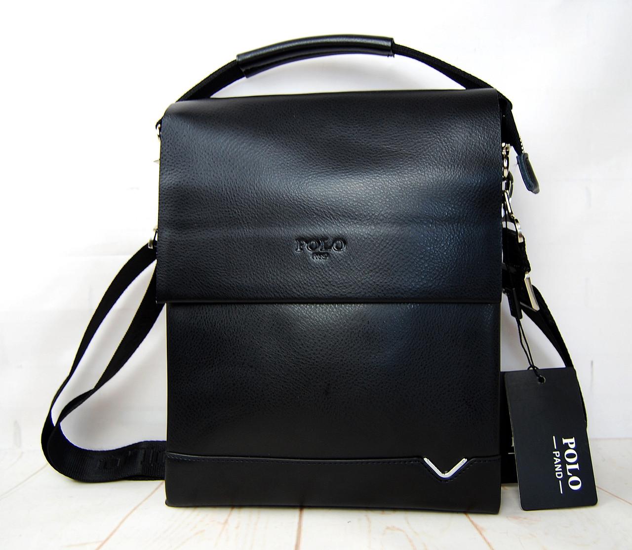 Мужская сумка-планшет Polo с ручкой.Барсетка мужская. Размер(в см) 27 на 21,5 КС28-1
