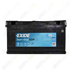 Аккумулятор Exide Start-Stop AGM 95Ah R+ 850A