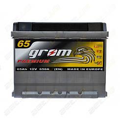 Аккумулятор Grom Premium 65Ah L+ 650A