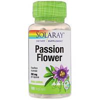 Solaray, Релаксант Passion Flower 350 мг, 100 Veg капсул