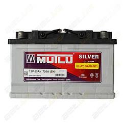 Аккумулятор Mutlu Silver Calcium 65Ah R+ 720A (корпус 75) (низкобазовый)