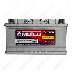 Аккумулятор Mutlu Silver Calcium 80Ah R+ 640A (низкобазовый)