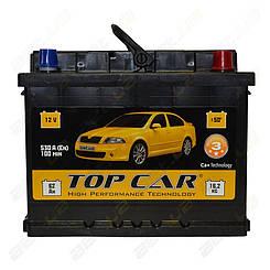 Аккумулятор TOP CAR 62Ah R+ 530A