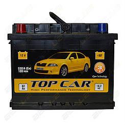 Автомобильный аккумулятор TOP CAR 62Ah L+ 530A