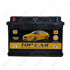 Аккумулятор TOP CAR 74Ah L+ 720A