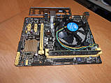 Материнская плата ASUS H81M-K s1150 + Core i3-4160 3,6 GHz + ОЗУ 4 Gb, фото 3