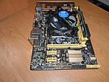 Материнская плата ASUS H81M-K s1150 + Core i3-4160 3,6 GHz + ОЗУ 4 Gb, фото 4