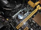 Материнская плата ASUS H81M-K s1150 + Core i3-4160 3,6 GHz + ОЗУ 4 Gb, фото 5