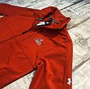 Черный и красный мужской спортивный костюм Under Armour, фото 3