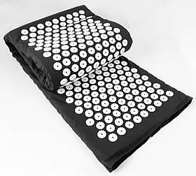 Великий Килимок масажний Аплікатор Кузнєцова (акупунктурний масажер для спини і ніг) 170х40 см (MS-1273)